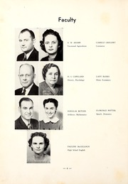 Page 10, 1940 Edition, Northwest Mississippi Community College - Rockateer Yearbook (Senatobia, MS) online yearbook collection
