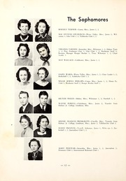 Page 16, 1940 Edition, Northwest Mississippi Community College - Rockateer Yearbook (Senatobia, MS) online yearbook collection