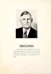 Page 8, 1940 Edition, Northwest Mississippi Community College - Rockateer Yearbook (Senatobia, MS) online yearbook collection