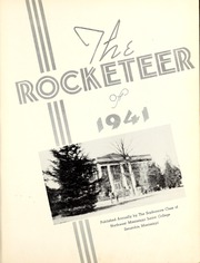 Page 5, 1941 Edition, Northwest Mississippi Community College - Rockateer Yearbook (Senatobia, MS) online yearbook collection