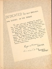 Page 7, 1944 Edition, Northwest Mississippi Community College - Rockateer Yearbook (Senatobia, MS) online yearbook collection