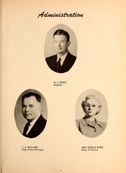 Page 11, 1947 Edition, Northwest Mississippi Community College - Rockateer Yearbook (Senatobia, MS) online yearbook collection