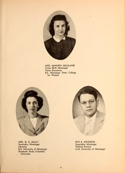 Page 15, 1947 Edition, Northwest Mississippi Community College - Rockateer Yearbook (Senatobia, MS) online yearbook collection