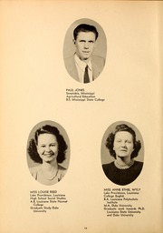 Page 16, 1947 Edition, Northwest Mississippi Community College - Rockateer Yearbook (Senatobia, MS) online yearbook collection