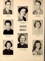 Page 14, 1954 Edition, Northwest Mississippi Community College - Rockateer Yearbook (Senatobia, MS) online yearbook collection