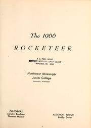 Page 5, 1966 Edition, Northwest Mississippi Community College - Rockateer Yearbook (Senatobia, MS) online yearbook collection