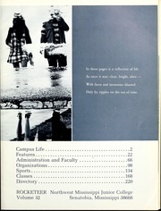 Page 5, 1971 Edition, Northwest Mississippi Community College - Rockateer Yearbook (Senatobia, MS) online yearbook collection