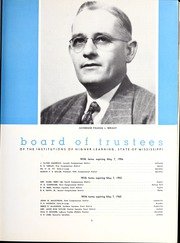 Page 9, 1949 Edition, University of Southern Mississippi - Southerner Yearbook (Hattiesburg, MS) online yearbook collection