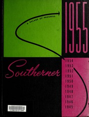 Page 1, 1955 Edition, University of Southern Mississippi - Southerner Yearbook (Hattiesburg, MS) online yearbook collection