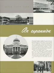 Page 10, 1960 Edition, University of Southern Mississippi - Southerner Yearbook (Hattiesburg, MS) online yearbook collection
