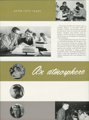 Page 12, 1960 Edition, University of Southern Mississippi - Southerner Yearbook (Hattiesburg, MS) online yearbook collection