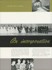 Page 16, 1960 Edition, University of Southern Mississippi - Southerner Yearbook (Hattiesburg, MS) online yearbook collection