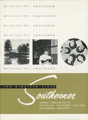 Page 8, 1960 Edition, University of Southern Mississippi - Southerner Yearbook (Hattiesburg, MS) online yearbook collection