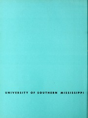 Page 4, 1963 Edition, University of Southern Mississippi - Southerner Yearbook (Hattiesburg, MS) online yearbook collection