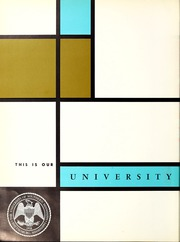 Page 6, 1963 Edition, University of Southern Mississippi - Southerner Yearbook (Hattiesburg, MS) online yearbook collection