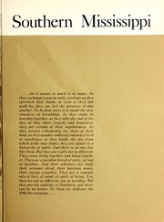 Page 11, 1968 Edition, University of Southern Mississippi - Southerner Yearbook (Hattiesburg, MS) online yearbook collection