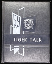 1959 Edition, Roxie High School - Tiger Talk Yearbook (Roxie, MS)