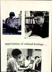 Page 15, 1967 Edition, Belhaven University - White Columns Yearbook (Jackson, MS) online yearbook collection