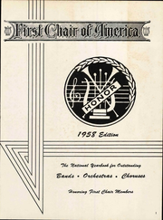Page 5, 1958 Edition, First Chair of America - National Yearbook (Greenwood, MS) online yearbook collection