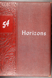 Page 1, 1954 Edition, Holmes Community College - Horizons Yearbook (Goodman, MS) online yearbook collection