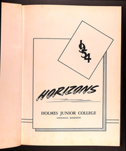 Page 5, 1954 Edition, Holmes Community College - Horizons Yearbook (Goodman, MS) online yearbook collection