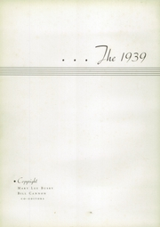 Page 6, 1939 Edition, Meridian Junior College - Reverie Yearbook (Meridian, MS) online yearbook collection
