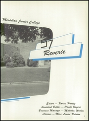 Page 7, 1957 Edition, Meridian Junior College - Reverie Yearbook (Meridian, MS) online yearbook collection