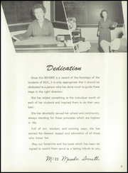 Page 9, 1957 Edition, Meridian Junior College - Reverie Yearbook (Meridian, MS) online yearbook collection