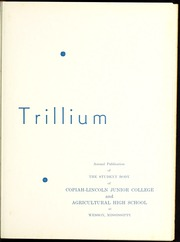 Page 7, 1937 Edition, Copiah Lincoln Community College - Trillium Yearbook (Wesson, MS) online yearbook collection