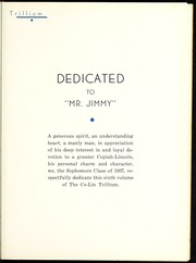 Page 9, 1937 Edition, Copiah Lincoln Community College - Trillium Yearbook (Wesson, MS) online yearbook collection