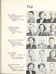 Page 11, 1951 Edition, Copiah Lincoln Community College - Trillium Yearbook (Wesson, MS) online yearbook collection