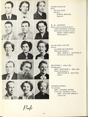 Page 12, 1951 Edition, Copiah Lincoln Community College - Trillium Yearbook (Wesson, MS) online yearbook collection