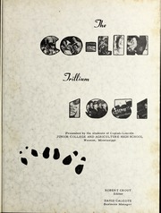 Page 5, 1951 Edition, Copiah Lincoln Community College - Trillium Yearbook (Wesson, MS) online yearbook collection