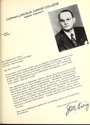 Page 13, 1952 Edition, Copiah Lincoln Community College - Trillium Yearbook (Wesson, MS) online yearbook collection