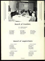 Page 14, 1954 Edition, Copiah Lincoln Community College - Trillium Yearbook (Wesson, MS) online yearbook collection