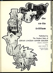Page 5, 1954 Edition, Copiah Lincoln Community College - Trillium Yearbook (Wesson, MS) online yearbook collection