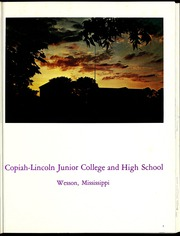 Page 5, 1970 Edition, Copiah Lincoln Community College - Trillium Yearbook (Wesson, MS) online yearbook collection