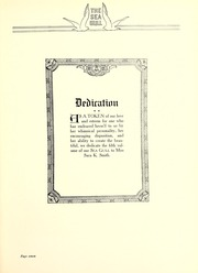 Page 11, 1926 Edition, Gulf Park College - Sea Gull Yearbook (Gulfport, MS) online yearbook collection