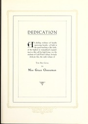 Page 11, 1927 Edition, Gulf Park College - Sea Gull Yearbook (Gulfport, MS) online yearbook collection