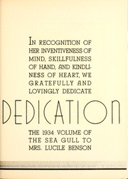 Page 13, 1934 Edition, Gulf Park College - Sea Gull Yearbook (Gulfport, MS) online yearbook collection