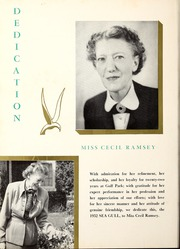 Page 16, 1952 Edition, Gulf Park College - Sea Gull Yearbook (Gulfport, MS) online yearbook collection
