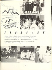 Page 19, 1955 Edition, Gulf Park College - Sea Gull Yearbook (Gulfport, MS) online yearbook collection