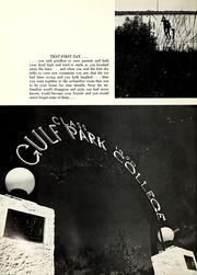 Page 8, 1971 Edition, Gulf Park College - Sea Gull Yearbook (Gulfport, MS) online yearbook collection