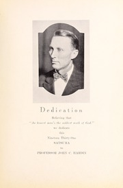 Page 9, 1931 Edition, Pearl River Community College - Wildcat Yearbook (Poplarville, MS) online yearbook collection