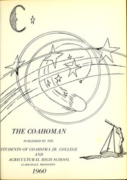 Page 5, 1960 Edition, Coahoma Community College - Coahoman Yearbook (Clarksdale, MS) online yearbook collection