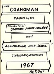 Page 5, 1967 Edition, Coahoma Community College - Coahoman Yearbook (Clarksdale, MS) online yearbook collection