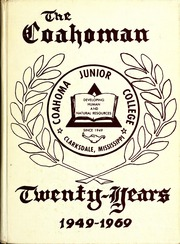 Page 1, 1969 Edition, Coahoma Community College - Coahoman Yearbook (Clarksdale, MS) online yearbook collection