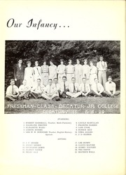 Page 12, 1939 Edition, East Central Community College - Wo He Lo Yearbook (Decatur, MS) online yearbook collection