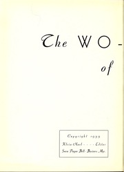 Page 6, 1939 Edition, East Central Community College - Wo He Lo Yearbook (Decatur, MS) online yearbook collection