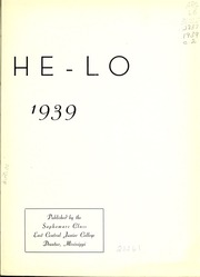Page 7, 1939 Edition, East Central Community College - Wo He Lo Yearbook (Decatur, MS) online yearbook collection